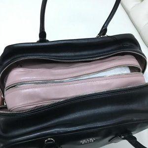Prada Bags - Prada Inside Bag Black Soft Calfskin Leather